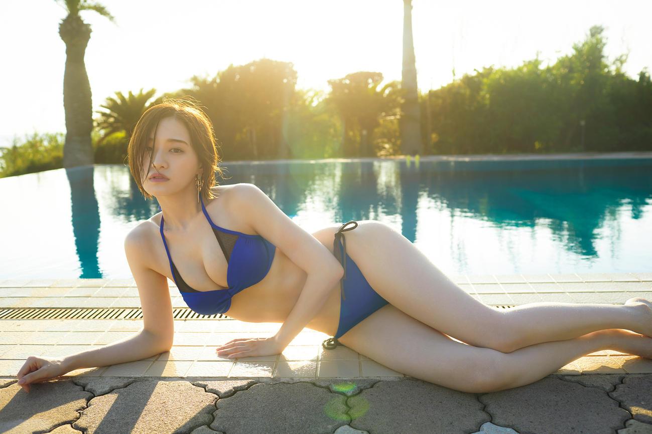 中田花奈ファースト写真集「好きなことだけをしていたい」の水着カット