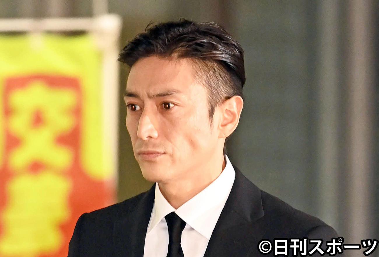 伊勢谷友介被告(2020年9月30日撮影)