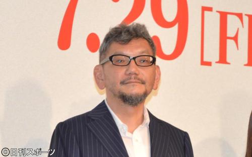 庵野秀明監督(2016年7月19日撮影)