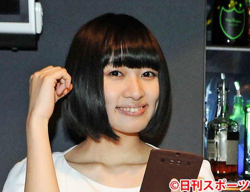 津野米咲さん(2014年3月14日撮影)