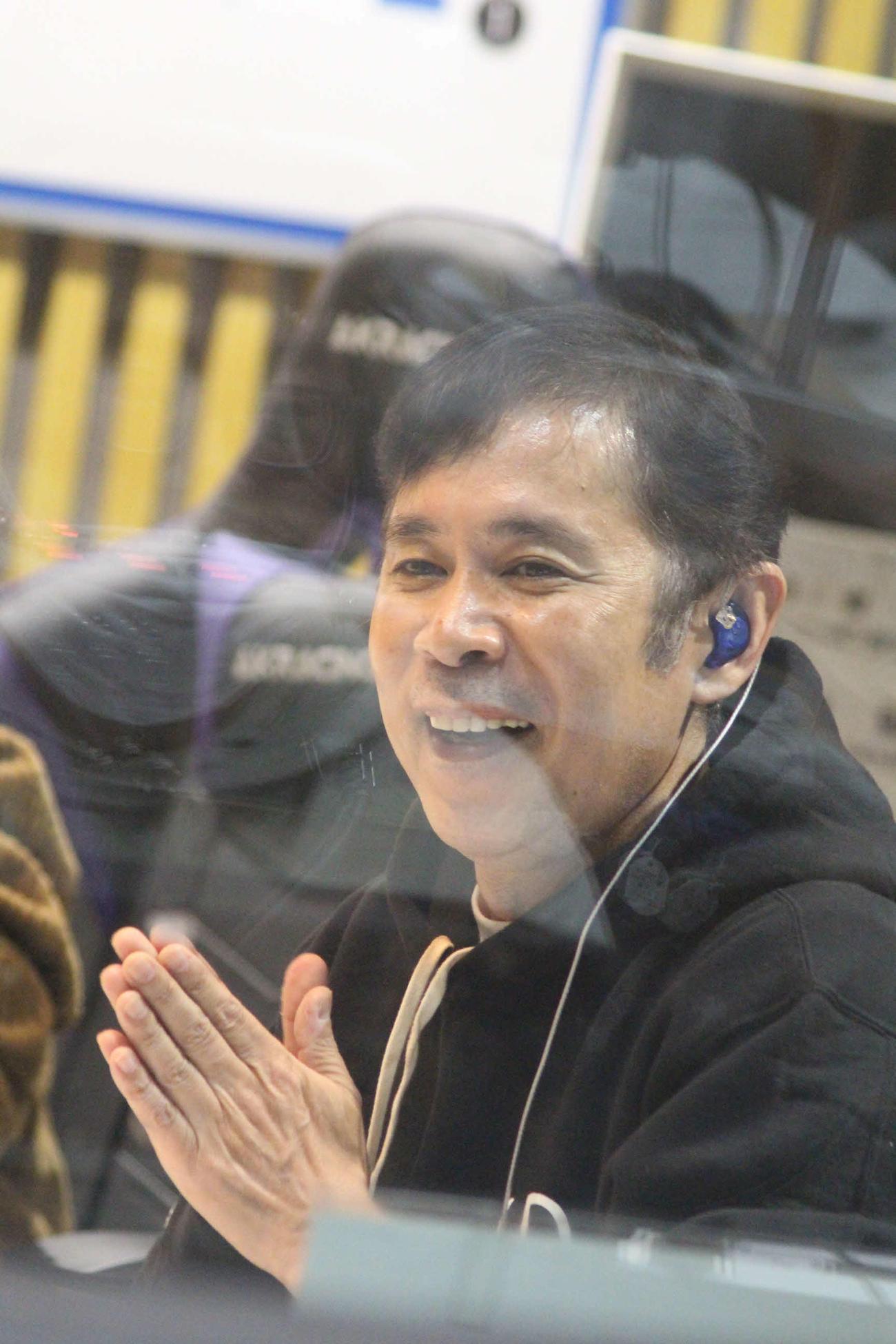 「オールナイトニッポン」でトークを結婚トークを繰り広げる岡村隆史(ニッポン放送提供)