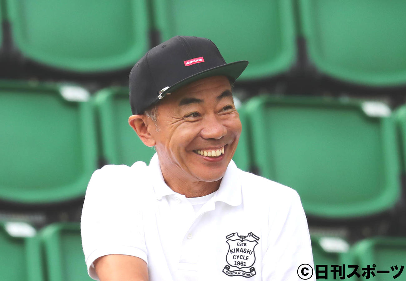 木梨憲武(2018年8月29日撮影)