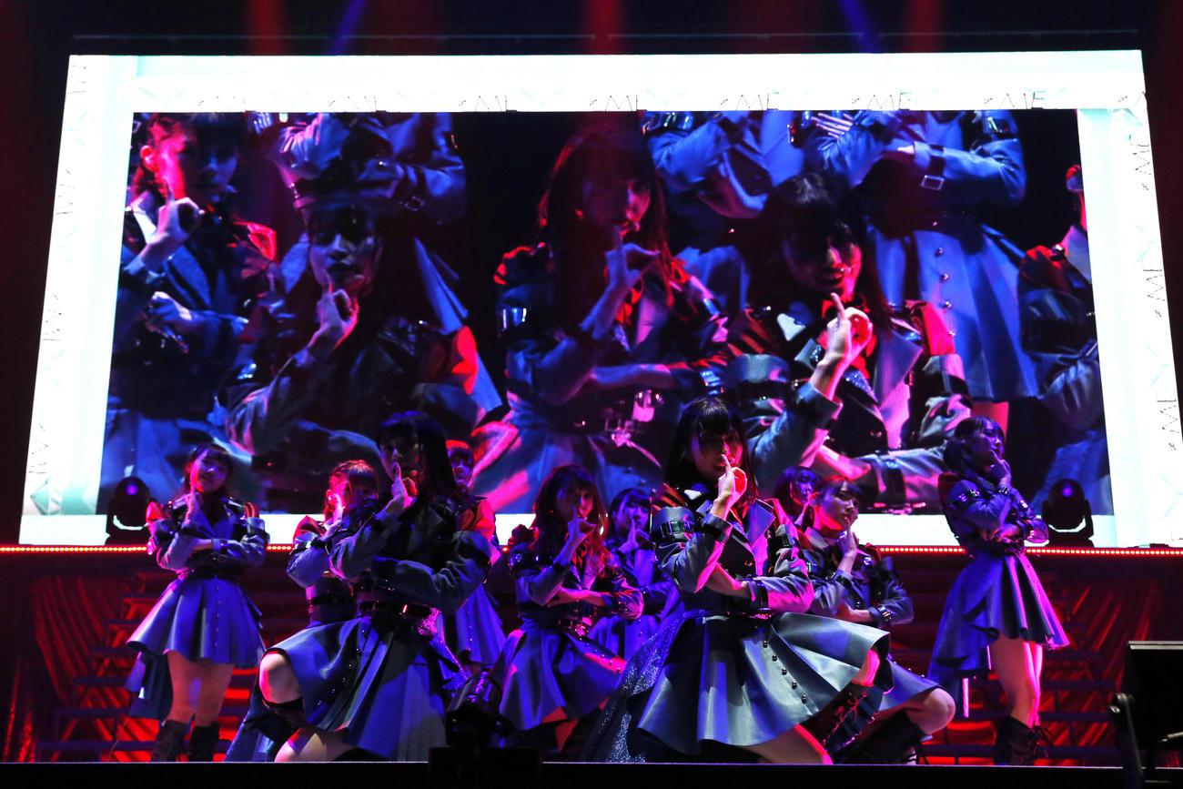 合同スペシャルコンサート「24girls 2020」を行ったアイドルグループ≠ME(ノットイコールミー)