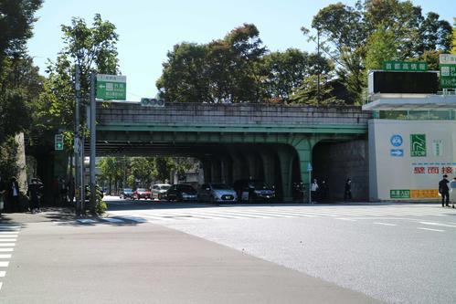 伊藤健太郎容疑者が事故を起こした東京・千駄ケ谷の外苑橋交差点