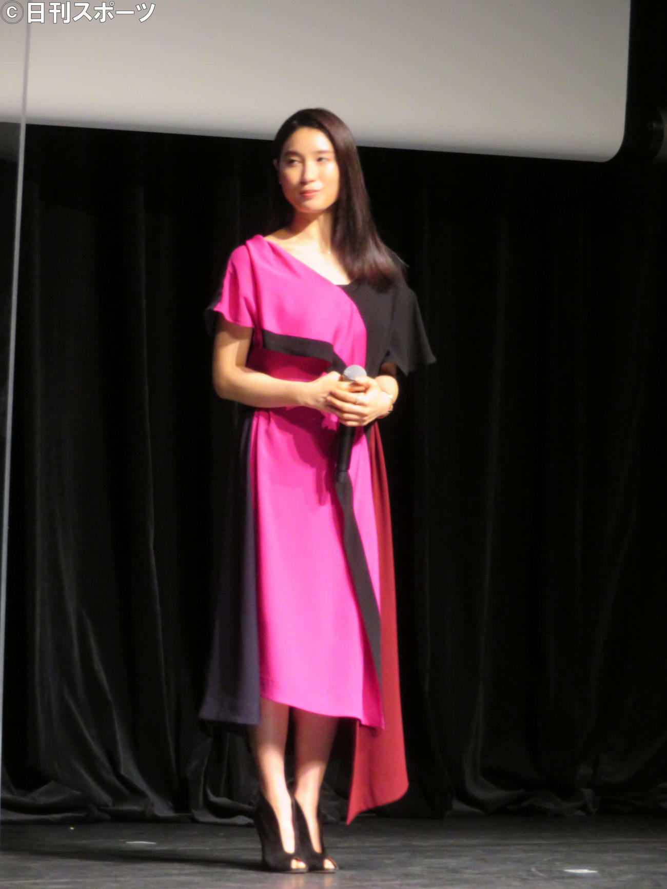 主演映画「哀愁しんでれら」トークイベントに登壇した土屋太鳳(撮影・村上幸将)