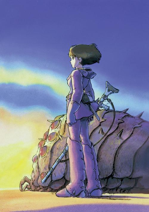 映画「風の谷のナウシカ」©1984StudioGhibli・H