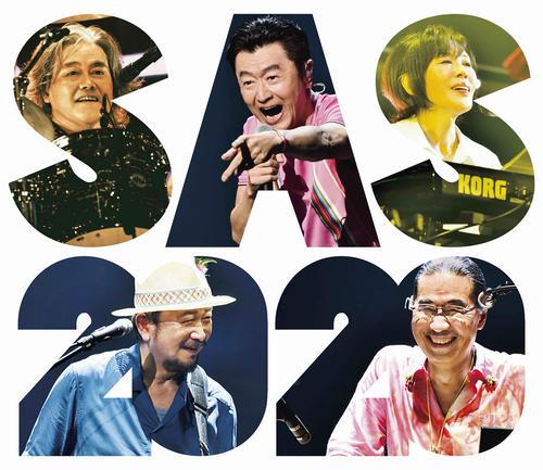 サザンオールスターズ。上段左から松田弘、桑田佳祐、原由子、下段左から関口和之、野沢秀行