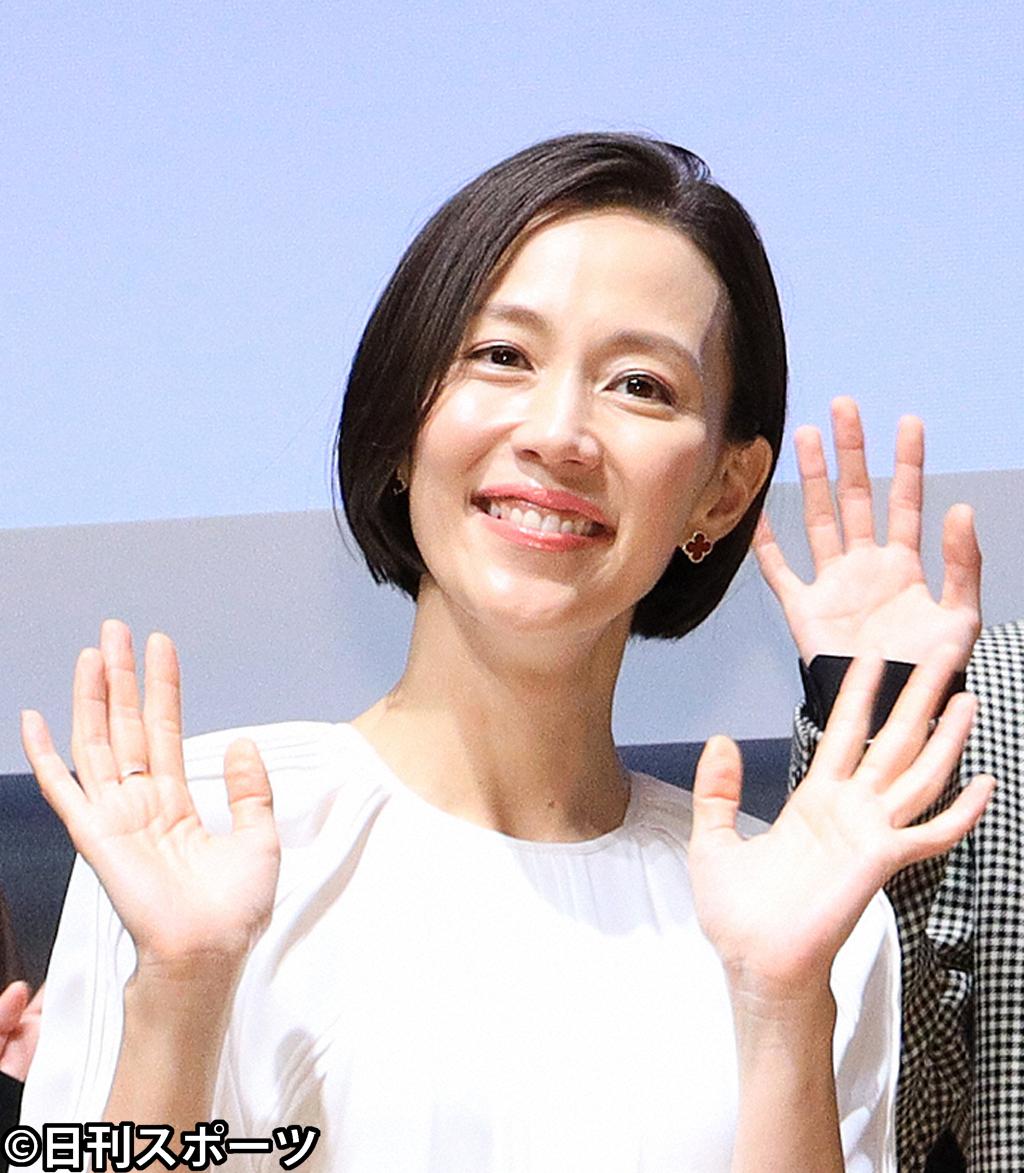 木村佳乃(2020年10月17日撮影)