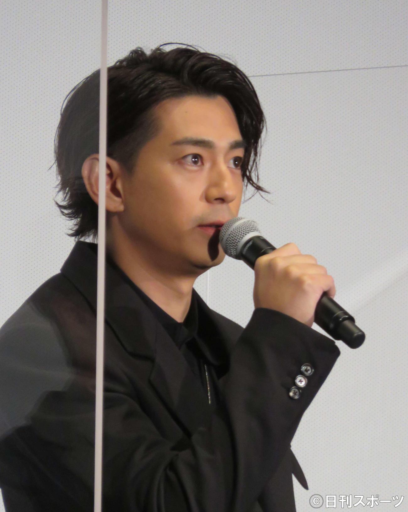 三浦春馬さん主演映画「天外者」完成舞台あいさつに出席した三浦翔平