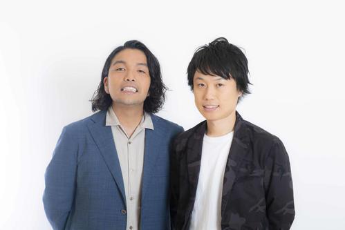 「M-1グランプリ2020」決勝に進出した見取り図のリリー(右)と盛山晋太郎(吉本興業提供)