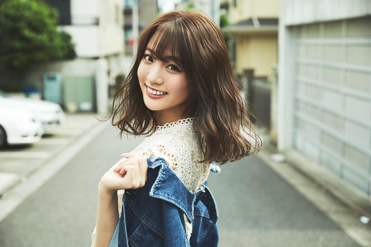 「岩手美少女図鑑」の応援アンバサダーに就任したモデル志田友美