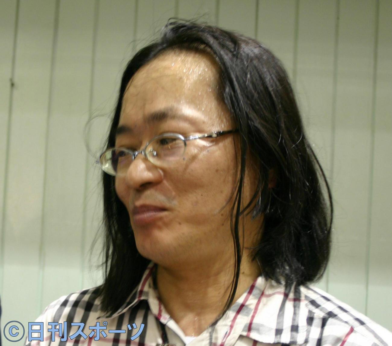 宅八郎氏(2007年04月22日撮影)