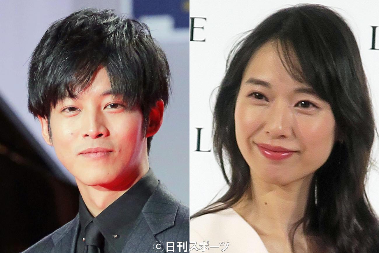 松坂桃李(左)戸田恵梨香
