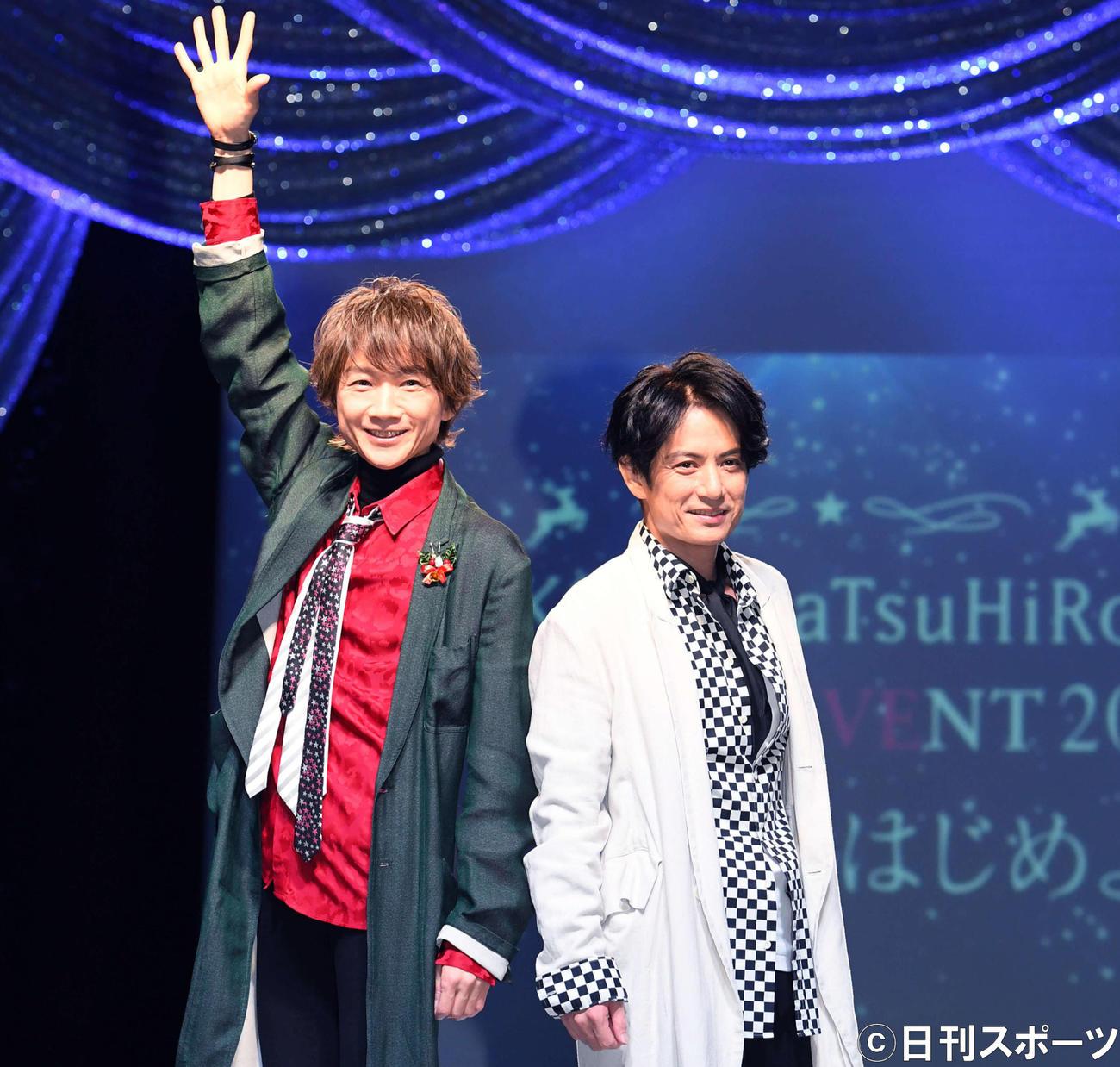 内海光司&佐藤アツヒロが光GENJIの世界再現 - ジャニーズ : 日刊 ...