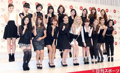 紅白歌合戦に初出場することが決まったE-girls(2013年11月25日)