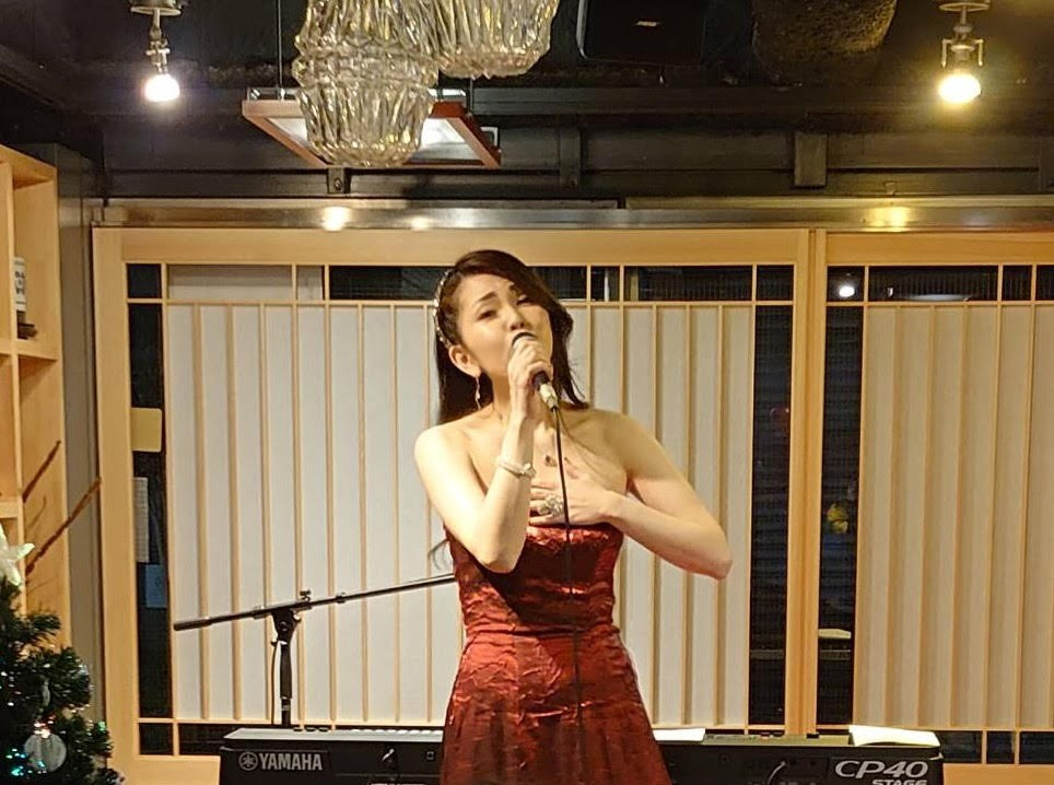 アフタークリスマスライブで歌うカノン