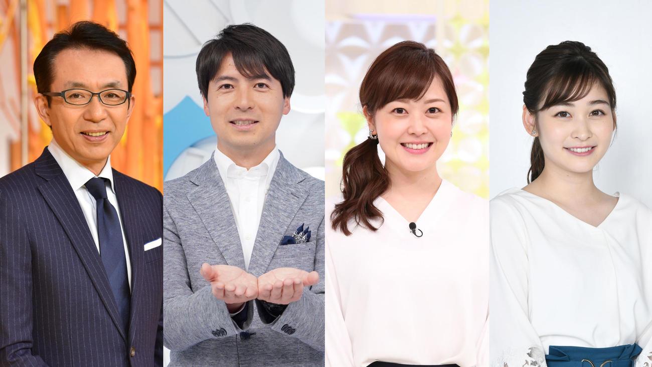 日テレ アナウンサー 異動 アナウンスルーム 日本テレビ