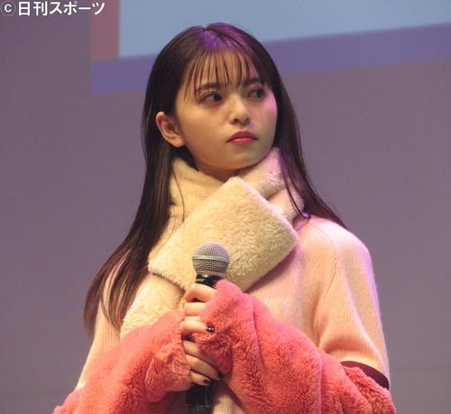 齋藤飛鳥(20年11月撮影)