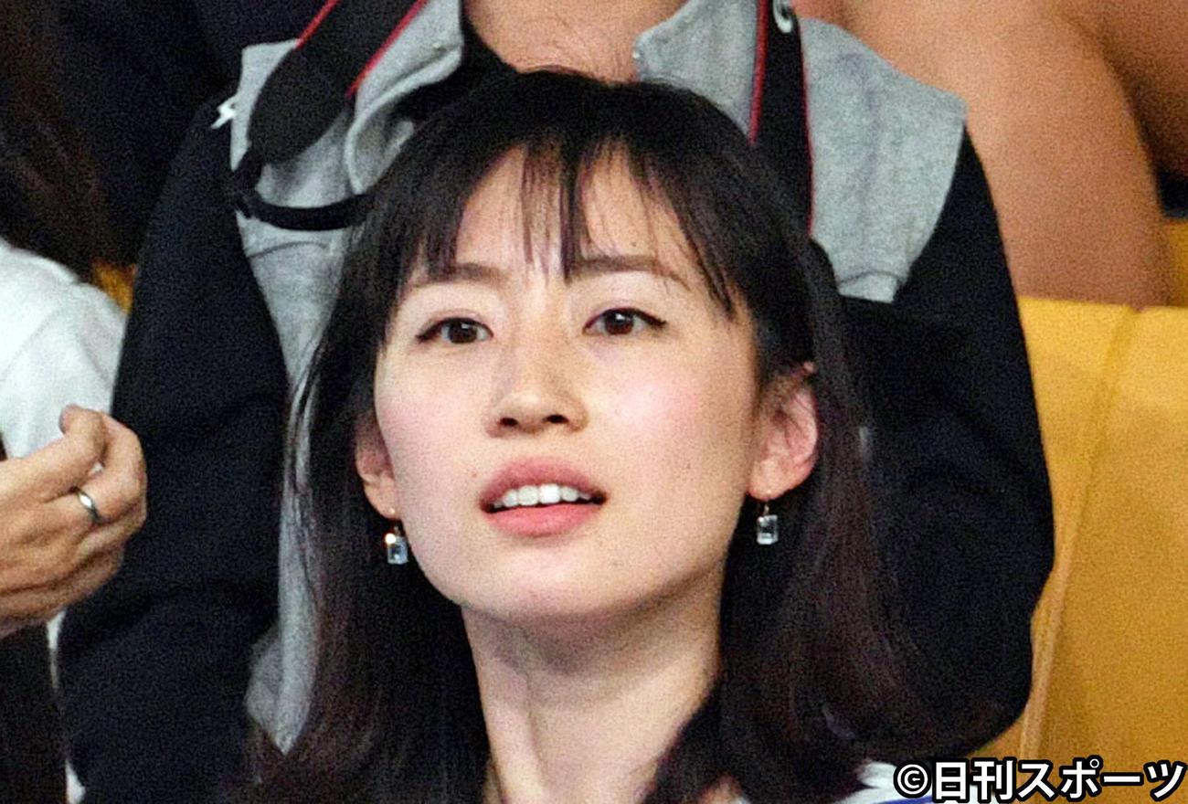 瀬戸大也の妻、優佳さん(2019年撮影)