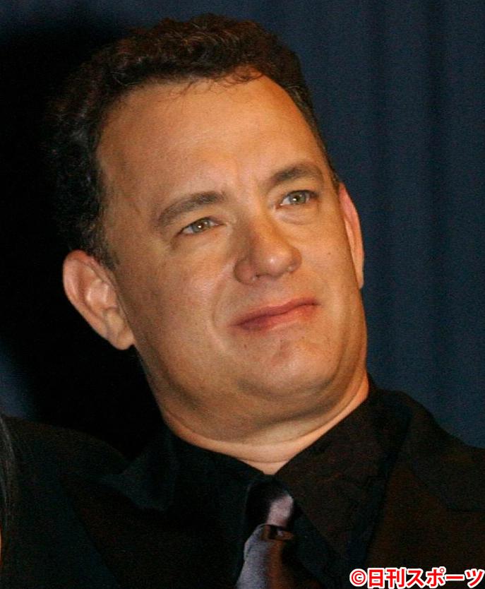 トム・ハンクス(2004年10月31日撮影)