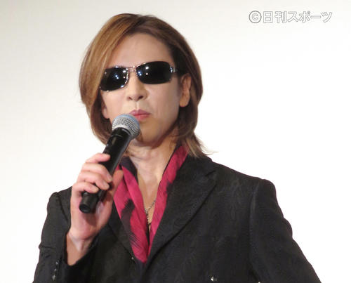 YOSHIKI(19年11月撮影)