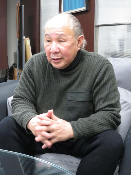 東京都に要望書を提出した際コーポレーション代表取締役の中島武氏