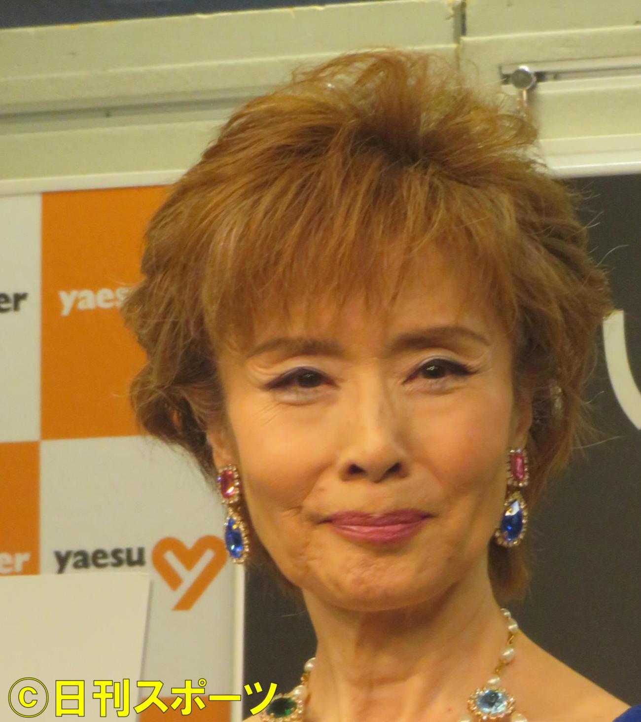小柳ルミ子(20年9月撮影)