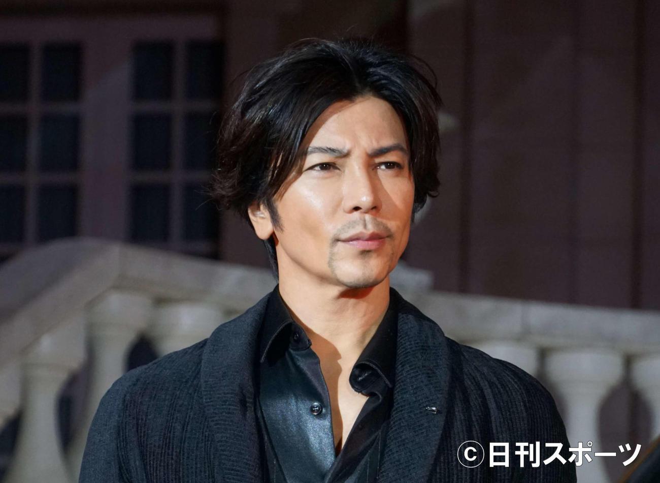 武田真治(2019年10月24日撮影)