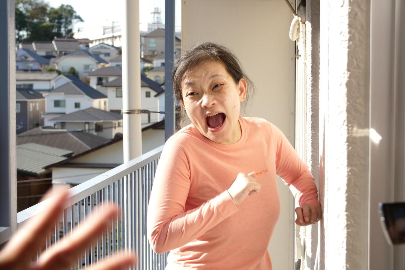 「ミセス・ノイズィ」の劇中で怒りをあらわにする若田美和子を演じる大高洋子(C)「ミセス・ノイズィ」製作委員会