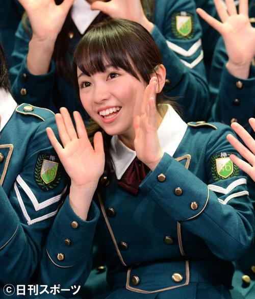 欅坂46時代の今泉佑唯(2016年4月17日)
