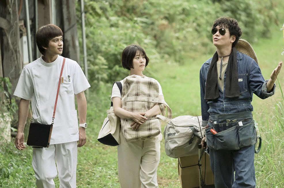 テレビ朝日系ドラマ「にじいろカルテ」第1話の1シーン