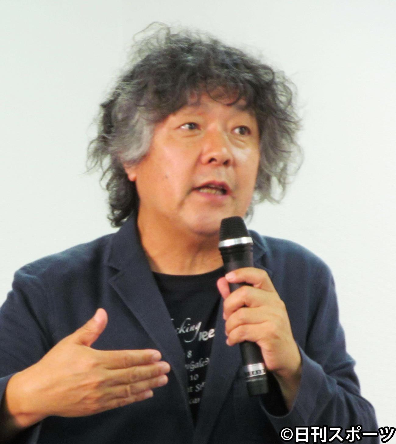茂木健一郎氏(2017年5月24日撮影)