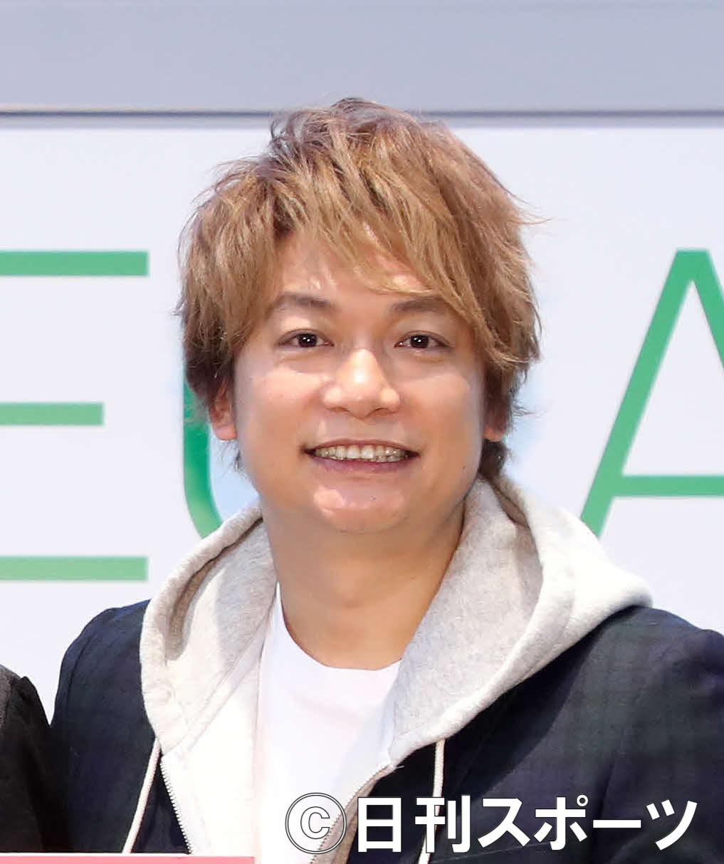 香取慎吾(2020年1月11日撮影)