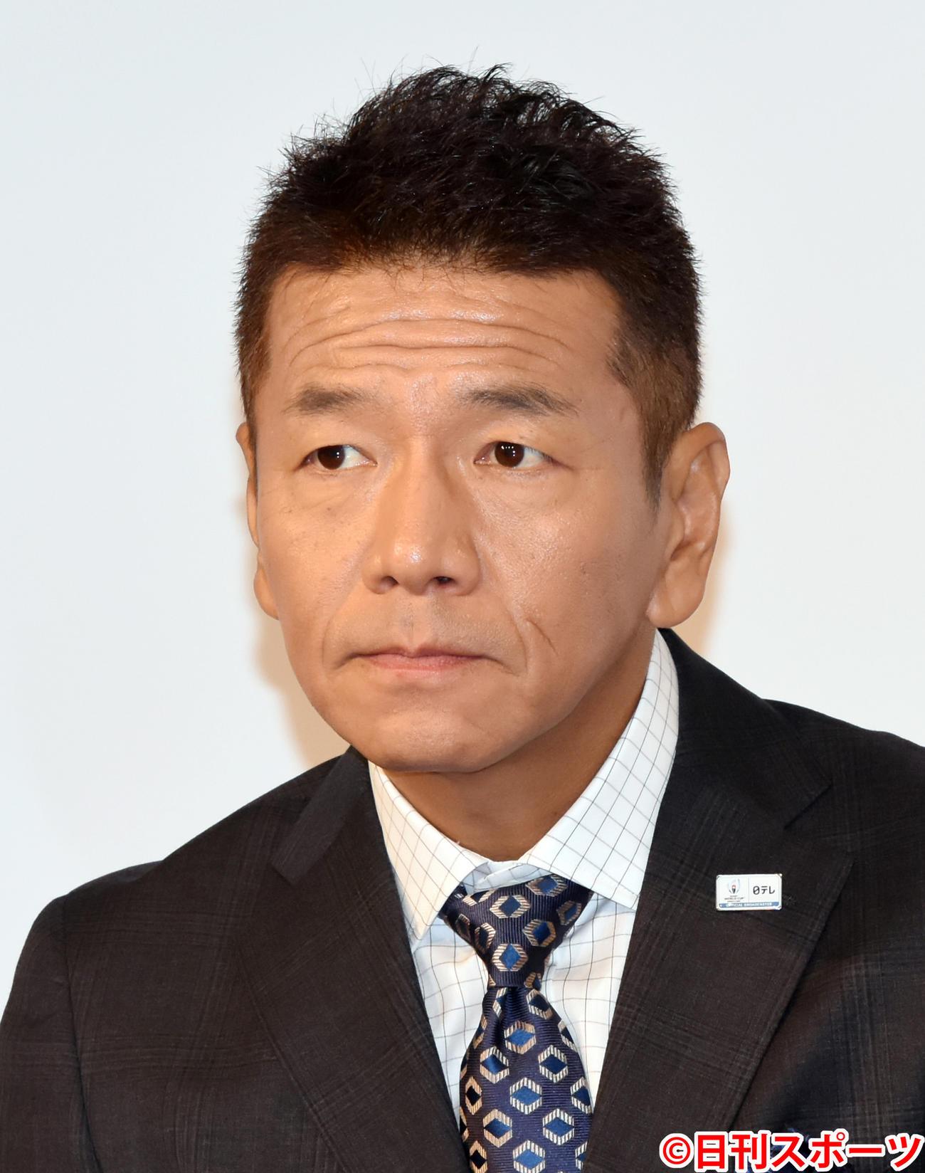 上田晋也(2019年8月27日撮影)