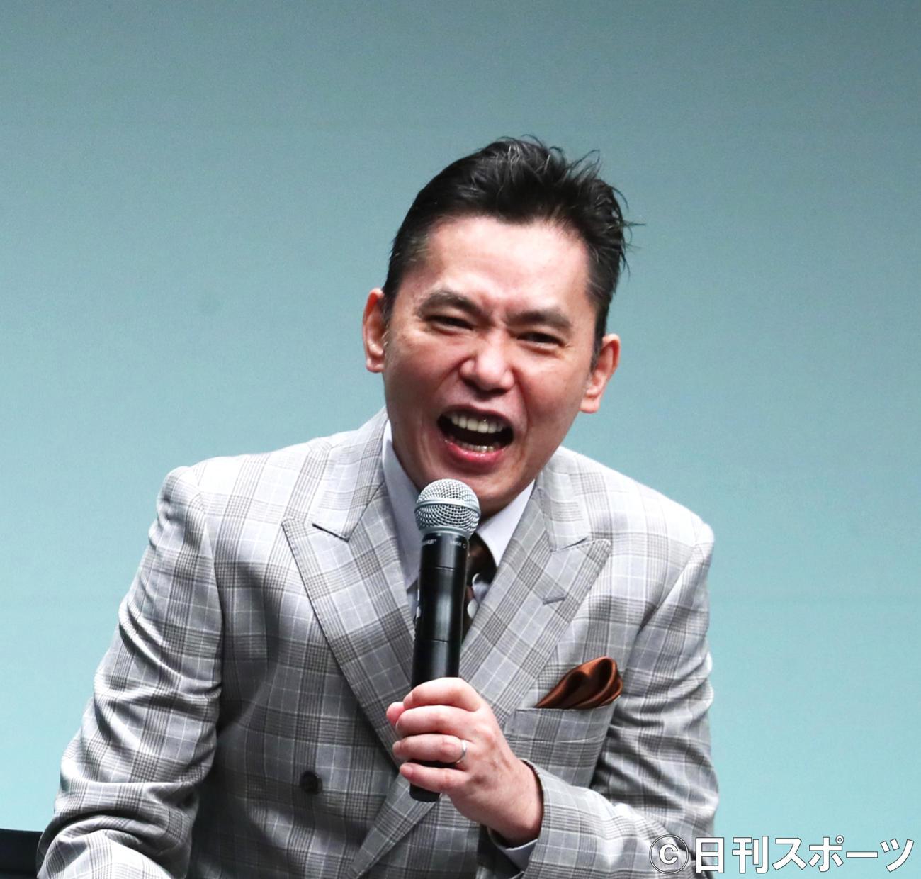 太田光(2020年8月28日撮影)