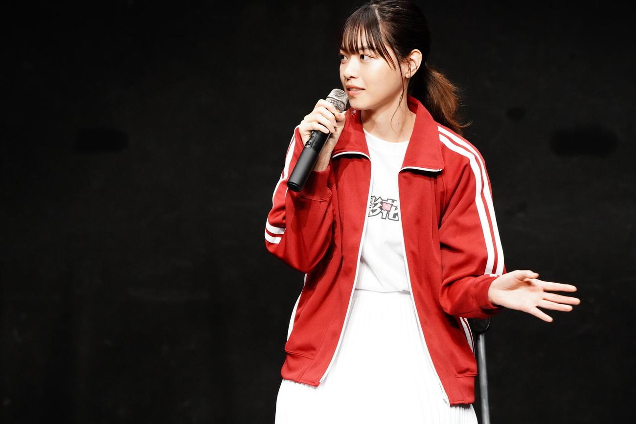 劇団☆新感線の舞台「月影花之丞大逆転」製作発表会見に出席した西野七瀬
