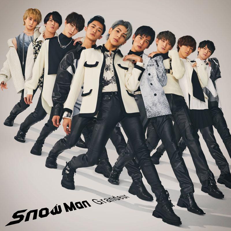 Snow Manの新曲「Grandeur」のジャケット写真