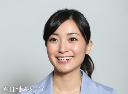 WBS大江麻理子アナ(2014年6月9日撮影)