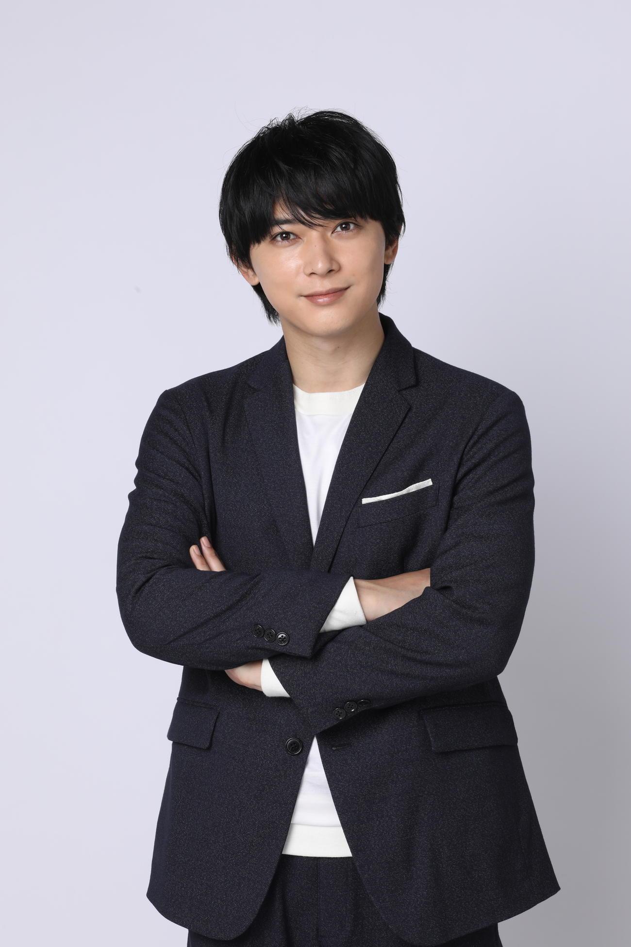 NHK大河ドラマ「青天を衝け」のオンライン会見に出席した吉沢亮