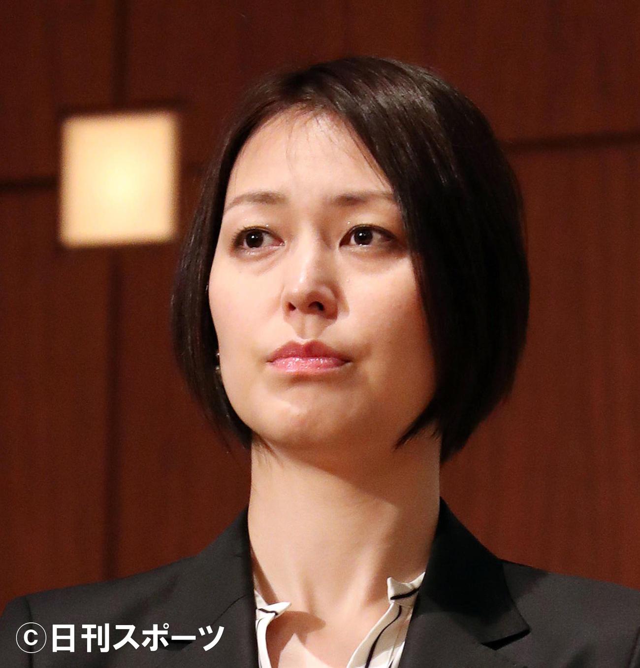 元バレーボール女子代表大山加奈さん(2017年4月19日撮影)