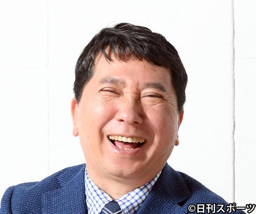 爆笑問題の田中裕二(2020年3月11日撮影)
