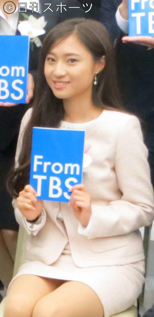 TBS伊東楓アナ(2016年4月1日撮影)