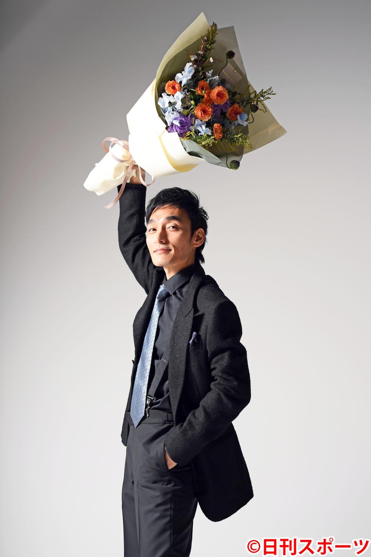 ブルーリボン賞主演男優賞を受賞した草なぎ剛(撮影・たえ見朱実)