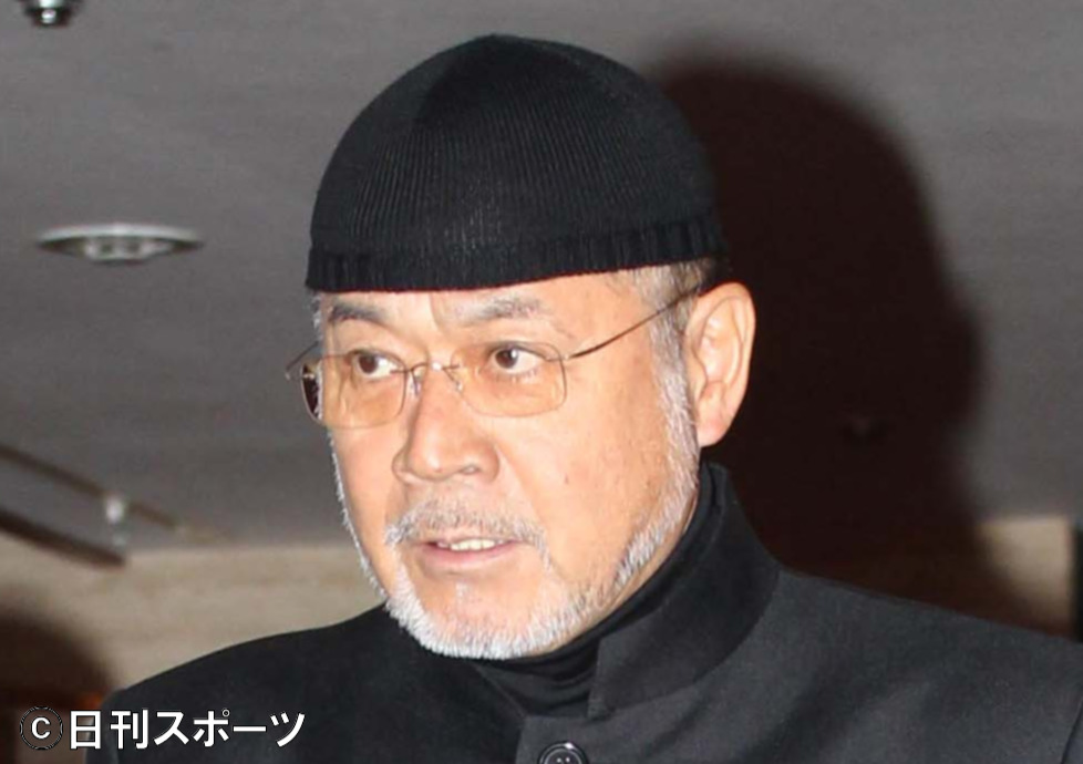 黒沢年雄(2010年10月24日撮影)