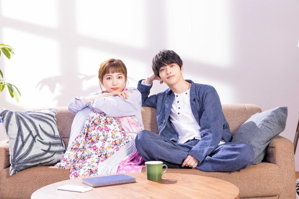 4月スタートのTBS系火曜ドラマ「着飾る恋には理由があって」に出演する川口春奈(左)と横浜流星