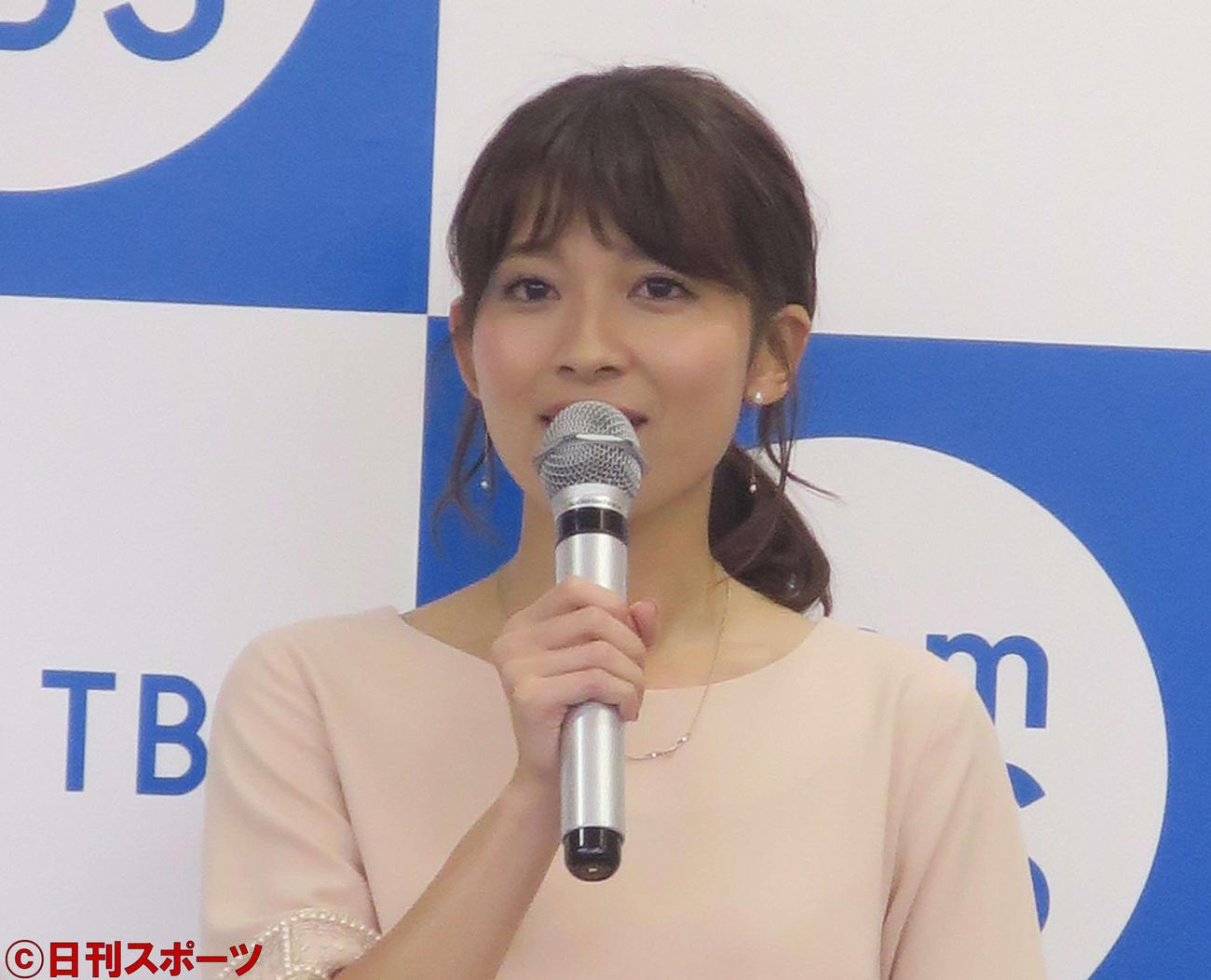 TBS山本里菜アナウンサー