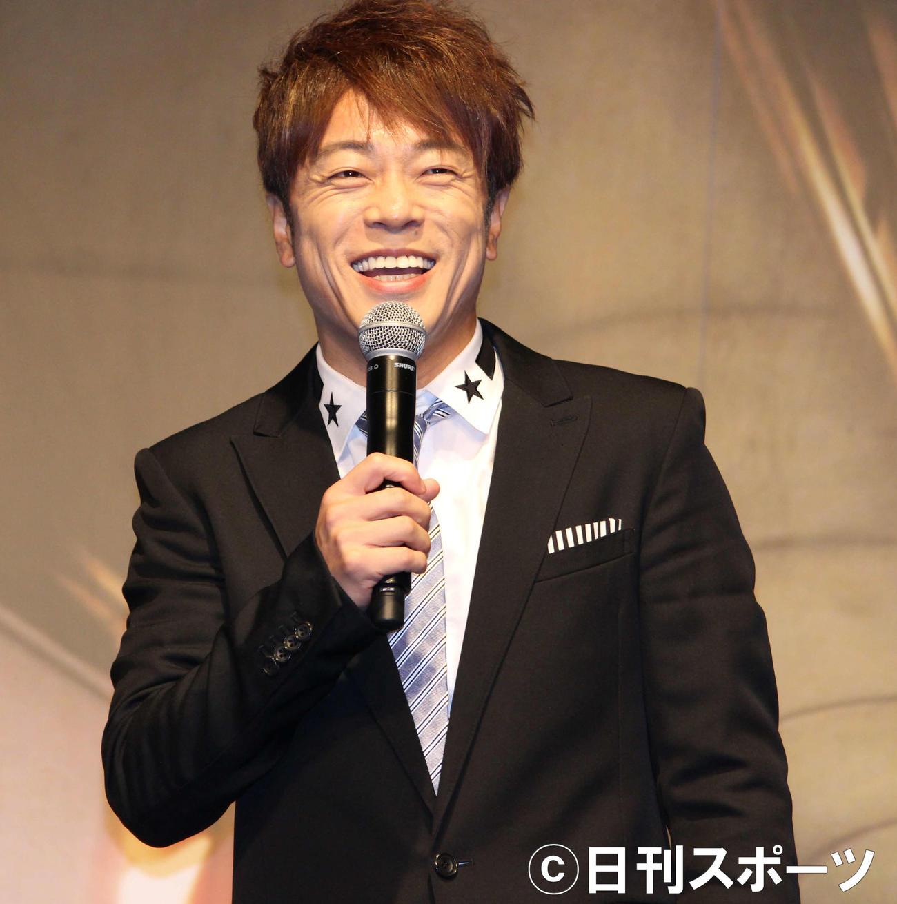 陣内智則(2018年8月29日撮影)