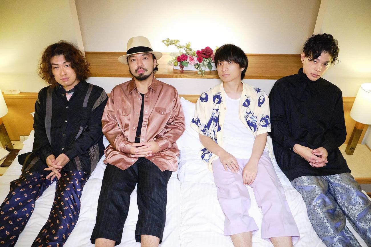 「ニッポン放送ショウアップナイター」のジングルを制作するロックバンド、クリープハイプ