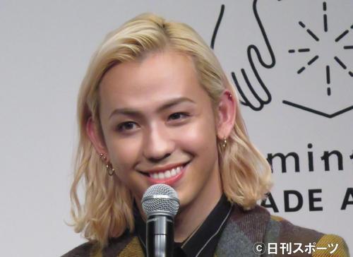 りゅうちぇる(2018年12月7日撮影)