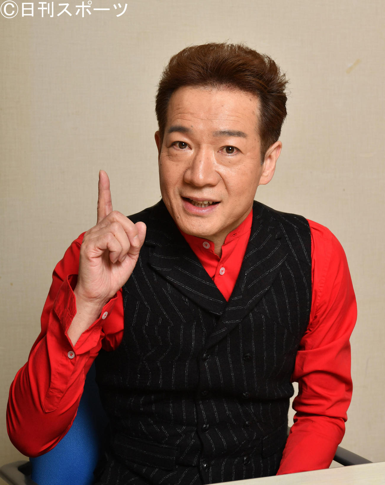 田原俊彦(2019年1月31日撮影)